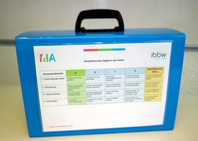 Abb.: Materialkoffer Kompetenzraster