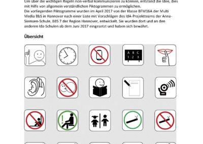 KR Regeln Piktogramme